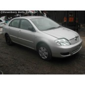 TOYOTA COROLLA VERSO 2200 2006 SILVER Manual Turbo Diesel 5Door