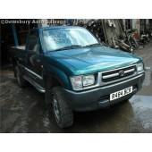 TOYOTA HILUX D4D 2400 2002 SILVER Manual Turbo Diesel 2Door