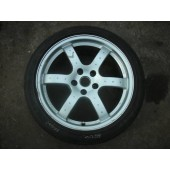 "NISSAN 350Z 18"" ALLOY WHEELS AND TYRES 2007."