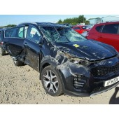 KIA SPORTAGE 2000 CC 6 SPEED AUTOMATIC DIESEL BLACK BREAKING SPARES NOT SALVAGE 2016