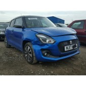 SUZUKI SWIFT SZ5 1000 CC ELECTRIC BLUE MANUAL 5 DOOR HATCHBACK 2017 BREAKING SPARES NOT SALVAGE