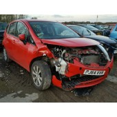NISSAN NOTE TEKNA 1200 CC PETROL AUTOMATIC MPV RED BREAKING SPARES NOT SALVAGE 2015