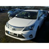TOYOTA AVENSIS  D-4D 2000 CC 6 SPEED MANUAL ESTATE BREAKING SPARES NOT SALVAGE 2013