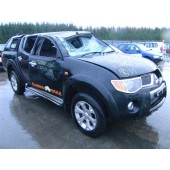 MITSUBISHI L200 DI-D 2500 2008 BLACK TURBO DIESEL 4 DOOR RAGING BULL.