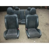 HONDA CIVIC SPORT 3 DOOR HALF LEATHER SEATS INTERIOR SEAT 2003-2006.
