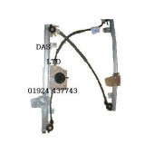 NISSAN PRIMERA PASSENGER SIDE FRONT (N/S/F) WINDOW WINDER MECHANISM REGULATOR 2001-2008.