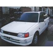 TOYOTA STARLET  1300 1996 WHITE Manual Petrol 3Door