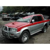 MITSUBISHI L200 4x4 2500 2004 RED Manual Turbo Diesel 4Door
